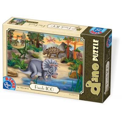 Puzzle  Dtoys-73037-DP-01 Dino