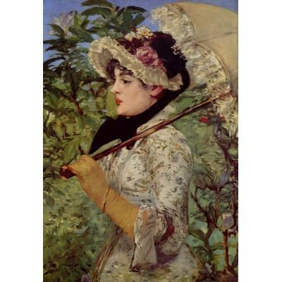 Puzzle  Dtoys-73068 Manet Édouard: Der Frühling