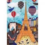 Puzzle  Dtoys-73730-CI01-(73730) Andrea Kürti: Paris