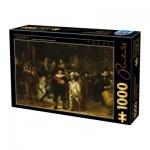 Puzzle  Dtoys-73792 Rembrandt - Die Nachtwache