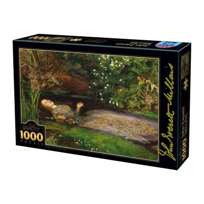 Puzzle  Dtoys-73815-MI01-(73815) John Everett Millais - Ophelia