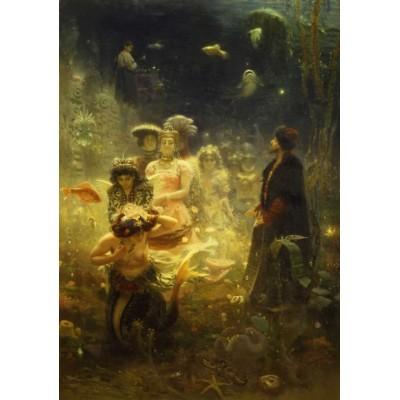 Puzzle  Dtoys-73839-RE01-(73839) Ilya Repin: Sadko in the Underwater Kingdom, 1876