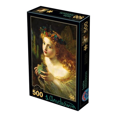 Puzzle  Dtoys-73853 Sophie Anderson - Take the Fair Face of Woman