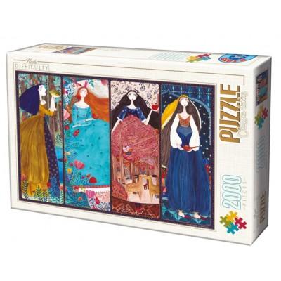 Puzzle Dtoys-73860-KA01-(73860) Kurti Andi - Collage