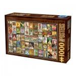 Puzzle  Dtoys-74362 Vintage Collage - Teas