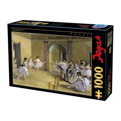 Puzzle Dtoys-74515 Edgar Degas - Das Tanzfoyer in der Oper