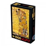 Puzzle  Dtoys-74560 Gustav Klimt: Die Umarmung