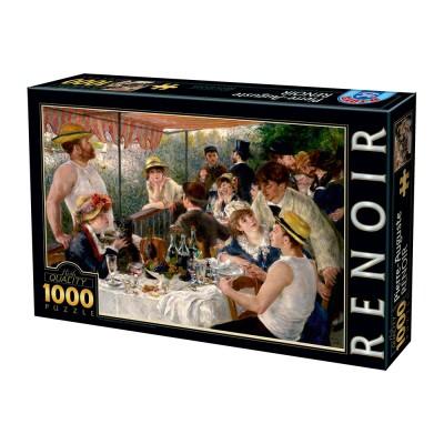 Puzzle Dtoys-74584 Auguste Renoir - Das Frühstück der Ruderer