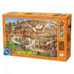 Puzzle  Dtoys-74676 Cartoon Collection - Kolliseum
