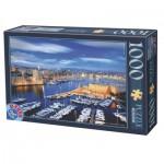 Puzzle  Dtoys-74720 Hafen von Marseille