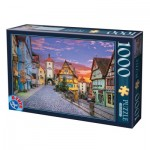 Puzzle  Dtoys-74737 Rothenburg