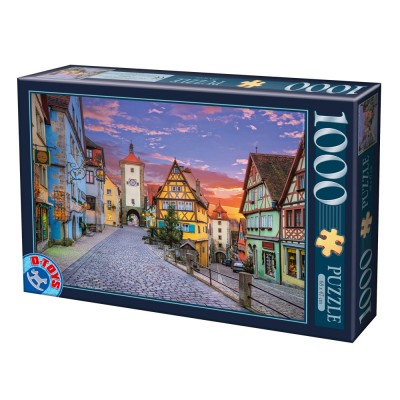 Puzzle Dtoys-74737 Rothenburg