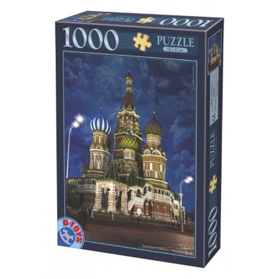 Puzzle Dtoys-74812 Basiliuskathedrale, Moskau