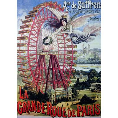 Puzzle Dtoys-74959 La Grande Roue de Paris