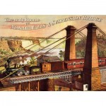 Puzzle  Dtoys-74966 The only Route via Niagara Falls & Suspension Bridge