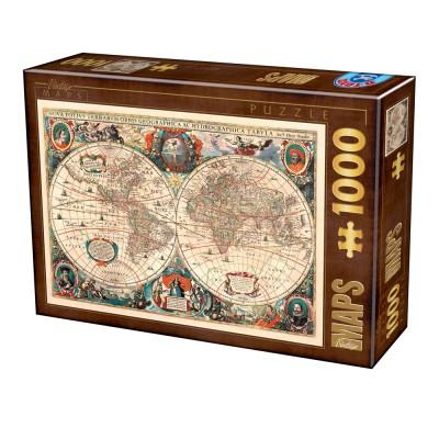 Puzzle Dtoys-75710 Antike Weltkarte