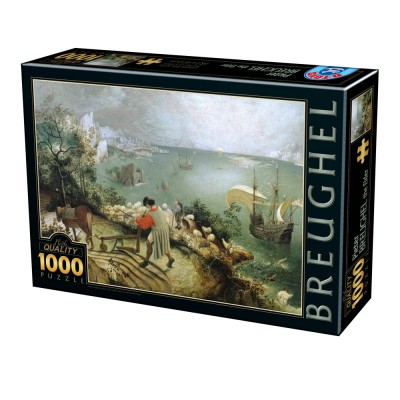 Puzzle Dtoys-75826 Pieter Brueghel