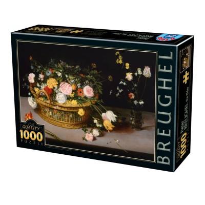Puzzle Dtoys-75833 Pieter Brueghel