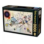 Puzzle  Dtoys-75918 Vassily Kandinsky - Composition 8