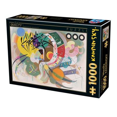 Puzzle Dtoys-75925 Vassily Kandinsky - Dominant Curve