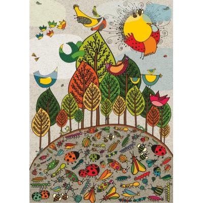 Dtoys-76007 Nature Puzzle