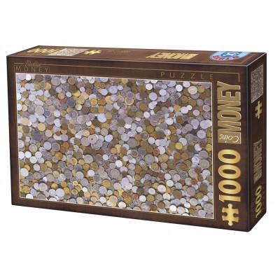 Puzzle Dtoys-76441 Vintage Collection - Kleingeld