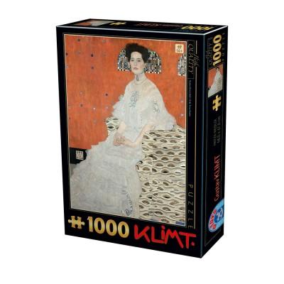 Puzzle Dtoys-76861 Gustav Klimt - Fritza Riedler