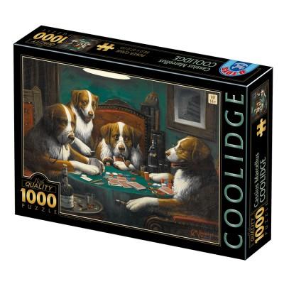 Puzzle  Dtoys-77394 Cassius Marcellus Coolidge - Poker Game