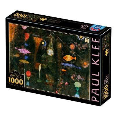 Puzzle  Dtoys-77424 Klee Paul : Fish Magic