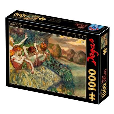 Puzzle  Dtoys-77677 Degas Edgar - Four Dancers