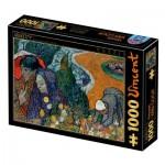 Puzzle  Dtoys-77714 Van Gogh Vincent : Memory of the Garden at Etten