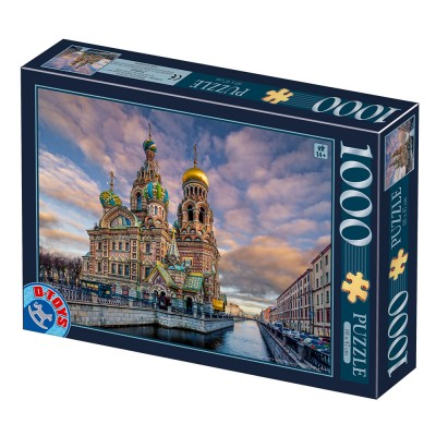 Puzzle  Dtoys-77776 Church of the Savior on Blood - Sankt Petersburg