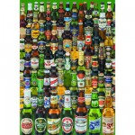 Puzzle  Educa-12736 Bierflaschen