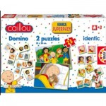 Puzzle  Educa-14094 Superpack 4 in 1 - Caillou