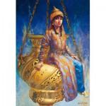 Puzzle  Educa-14723 Kamil Aslanger - Oil Lamp