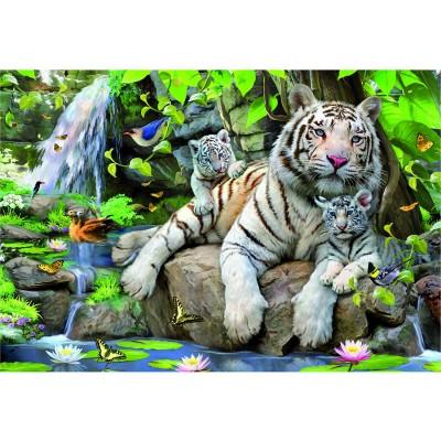 Puzzle  Educa-14808 Bengalische Tiger