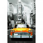 Educa-14836 Puzzle 1000 Teile Mini - Taxi N°1 New York