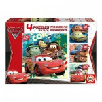 Educa-14942 Puzzle progressif - Cars 2