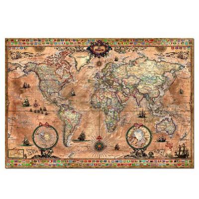Puzzle  Educa-15159 Weltkarte