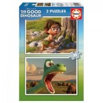 Educa-15929 2 Puzzles - Disney Pixar - The Good Dinosaur