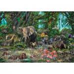 Puzzle  Educa-16013 Afrikanischer Dschungel