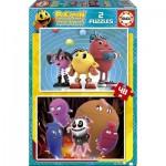 Educa-16159 2 Puzzles - Pac-Man
