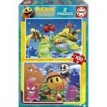 Educa-16160 2 Puzzles - Pac-Man