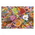 Puzzle  Educa-16271 Süssigkeiten