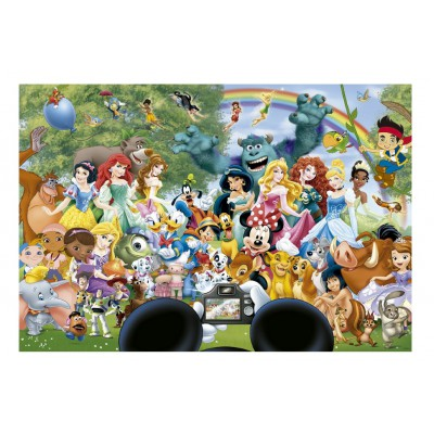 Puzzle  Educa-16297 Disneys Wunderbare Welt II