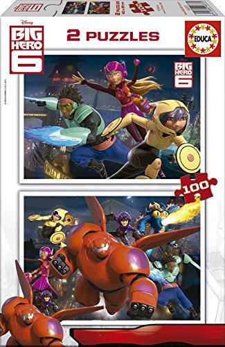 Educa-16337 2 Puzzles - Big Hero