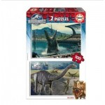 Educa-16340 2 Puzzles - Jurassic World