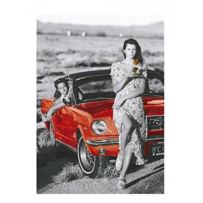 Puzzle  Educa-16360 Country Romance