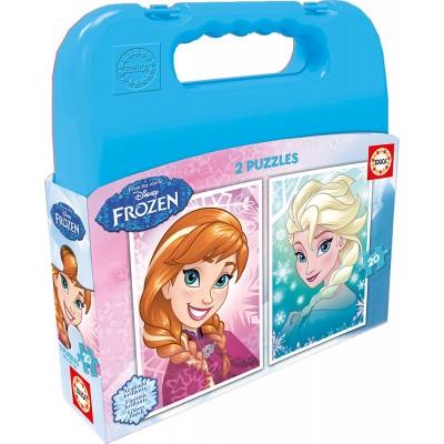 Educa-16511 2 Puzzles - Frozen