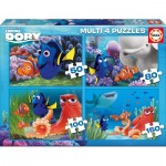 Educa-16700 4 Puzzles - Finding Dory